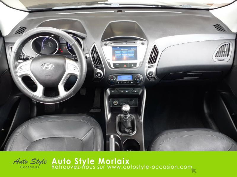 Photo 6 de l'offre de HYUNDAI ix35 1.7 CRDi Pack Premium Limited à 10980€ chez Garage de la Gare - Opel Morlaix