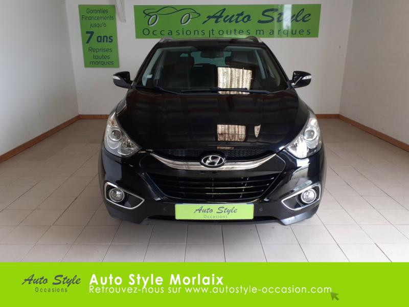 Photo 5 de l'offre de HYUNDAI ix35 1.7 CRDi Pack Premium Limited à 10980€ chez Garage de la Gare - Opel Morlaix