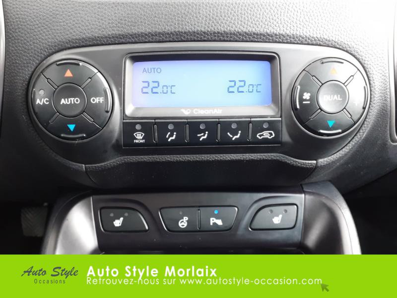 Photo 9 de l'offre de HYUNDAI ix35 1.7 CRDi Pack Premium Limited à 10980€ chez Garage de la Gare - Opel Morlaix