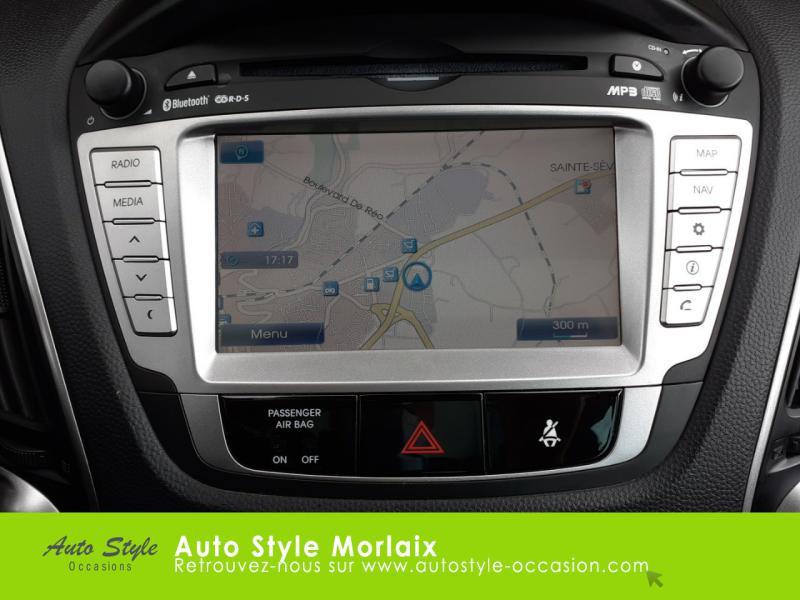 Photo 8 de l'offre de HYUNDAI ix35 1.7 CRDi Pack Premium Limited à 10980€ chez Garage de la Gare - Opel Morlaix