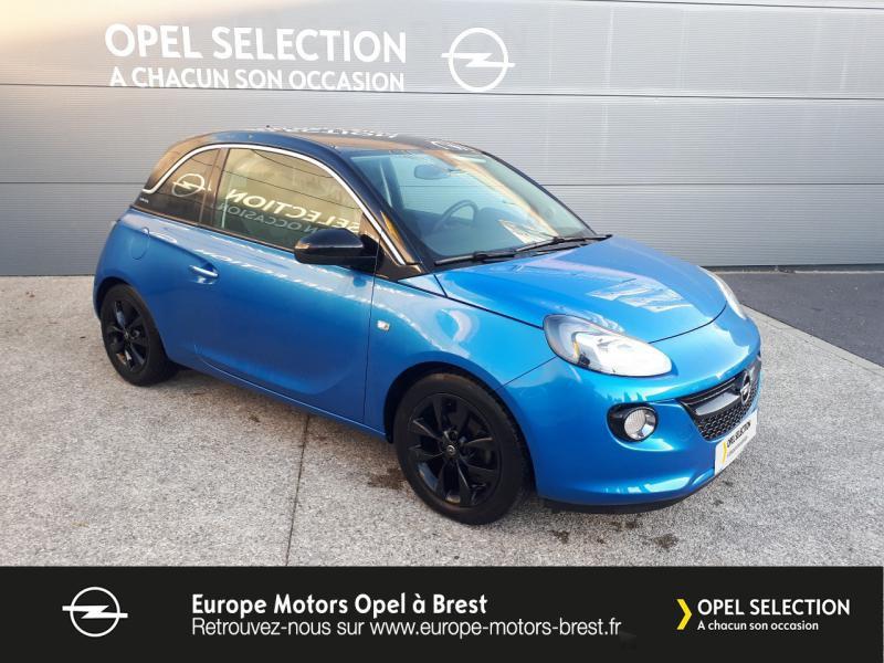 Photo 3 de l'offre de OPEL Adam 1.4 Twinport 87ch Black Edition Start/Stop à 12490€ chez Europe Motors - Opel Brest
