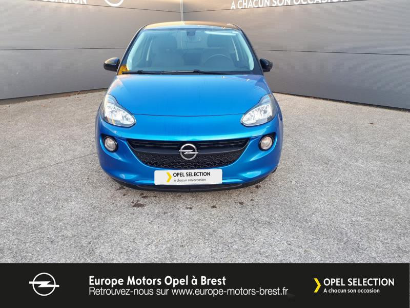 Photo 2 de l'offre de OPEL Adam 1.4 Twinport 87ch Black Edition Start/Stop à 12490€ chez Europe Motors - Opel Brest