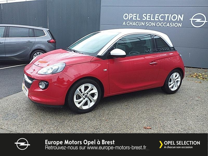 Photo 1 de l'offre de OPEL Adam 1.4 Twinport 87ch White Edition Start/Stop à 12490€ chez Europe Motors - Opel Brest