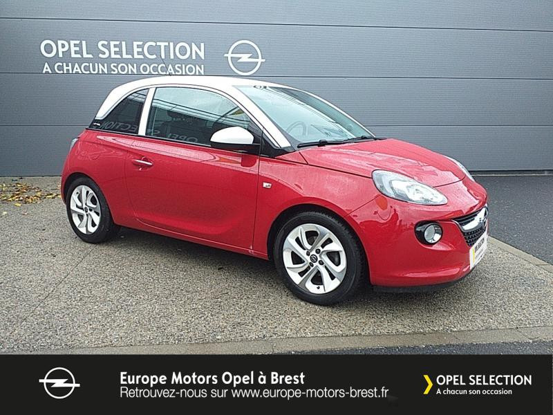 Photo 3 de l'offre de OPEL Adam 1.4 Twinport 87ch White Edition Start/Stop à 12490€ chez Europe Motors - Opel Brest