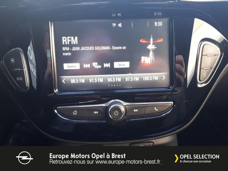 Photo 14 de l'offre de OPEL Adam 1.4 Twinport 87ch Black Edition Start/Stop à 12490€ chez Europe Motors - Opel Brest