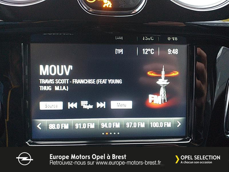 Photo 16 de l'offre de OPEL Adam 1.4 Twinport 87ch White Edition Start/Stop à 12490€ chez Europe Motors - Opel Brest