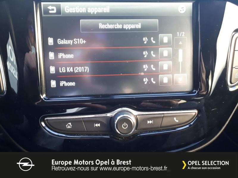 Photo 15 de l'offre de OPEL Adam 1.4 Twinport 87ch Black Edition Start/Stop à 12490€ chez Europe Motors - Opel Brest