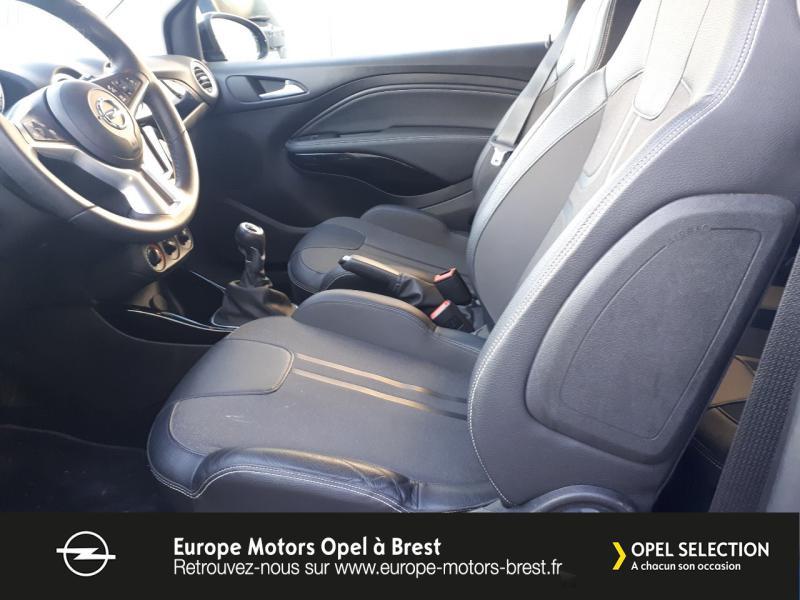 Photo 9 de l'offre de OPEL Adam 1.4 Twinport 87ch Black Edition Start/Stop à 12490€ chez Europe Motors - Opel Brest