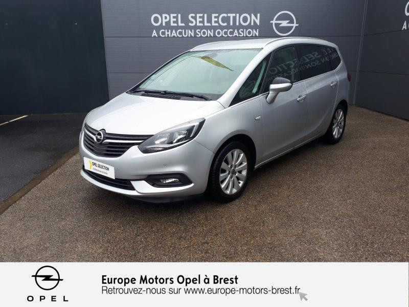 Opel Zafira 1.6 D 134ch BlueInjection Innovation Diesel Gris Minéral Occasion à vendre