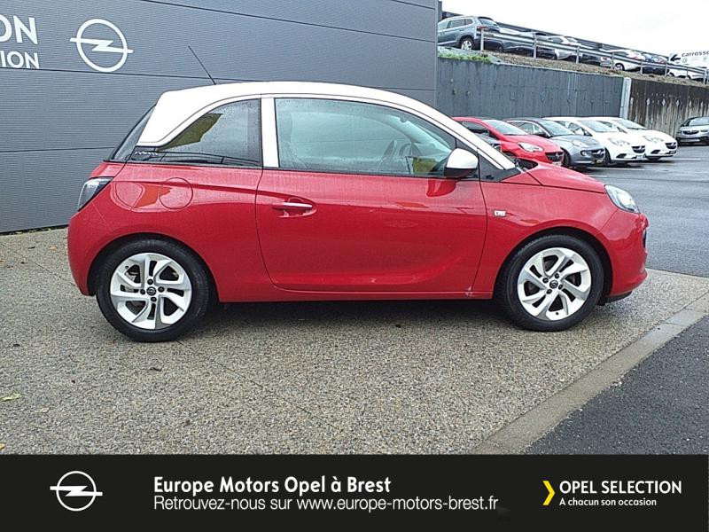 Photo 4 de l'offre de OPEL Adam 1.4 Twinport 87ch White Edition Start/Stop à 12490€ chez Europe Motors - Opel Brest
