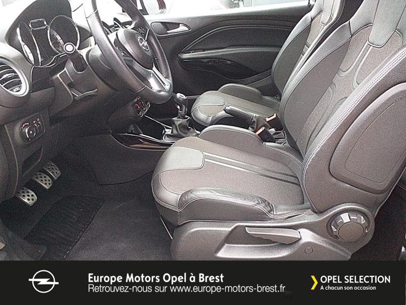 Photo 9 de l'offre de OPEL Adam 1.4 Twinport 87ch White Edition Start/Stop à 12490€ chez Europe Motors - Opel Brest
