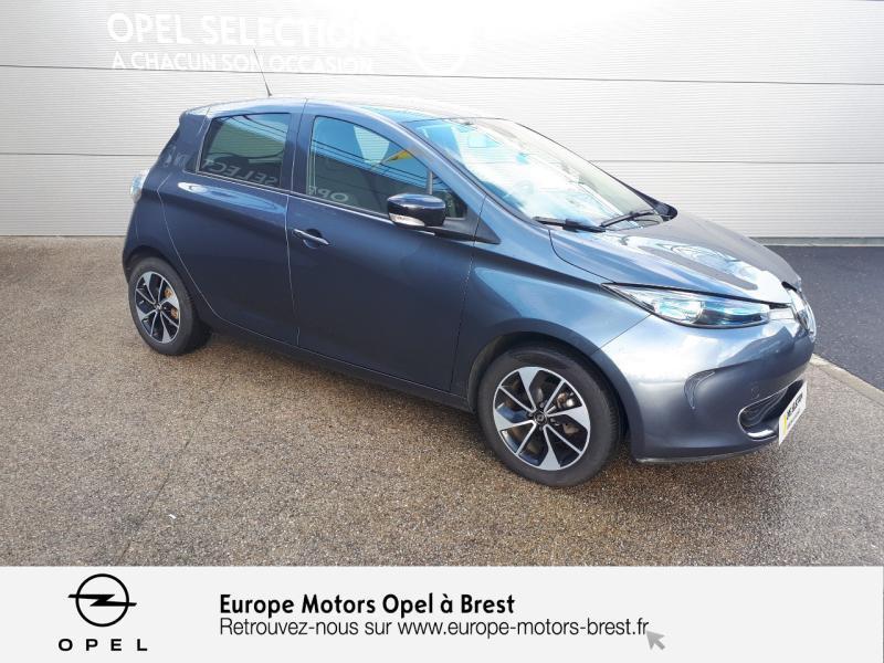 Photo 3 de l'offre de RENAULT Zoe Intens charge normale R90 à 10990€ chez Europe Motors - Opel Brest