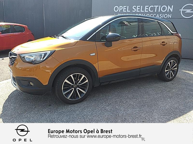 Photo 1 de l'offre de OPEL Crossland X 1.2 Turbo 110ch ECOTEC Innovation à 13990€ chez Europe Motors - Opel Brest