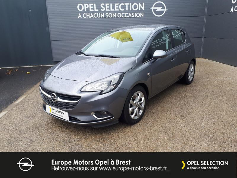 Photo 1 de l'offre de OPEL Corsa 1.0 ECOTEC Turbo 90ch Design 120 ans Start/Stop 5p à 11990€ chez Europe Motors - Opel Brest
