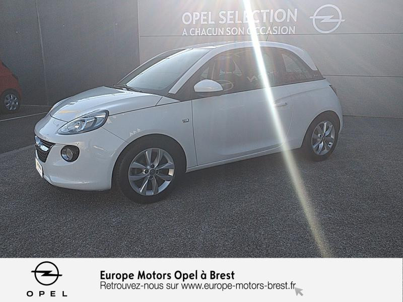 Opel Adam 1.2 Twinport 70ch Unlimited Essence Blanc  Saturday White Fever  Occasion à vendre