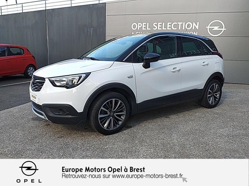 Opel Crossland X 1.2 Turbo 110ch ECOTEC Innovation Essence Blanc Glacier Occasion à vendre