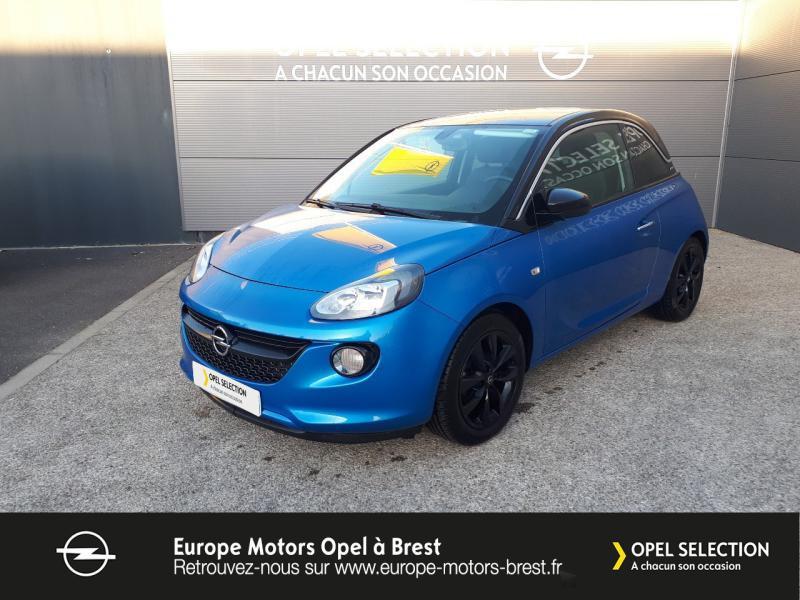 Opel Adam 1.4 Twinport 87ch Black Edition Start/Stop Essence Bleu  Let it Blue  Occasion à vendre