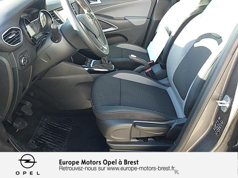 Photo 9 de l'offre de OPEL Crossland X 1.2 Turbo 110ch Elegance à 15490€ chez Europe Motors - Opel Brest
