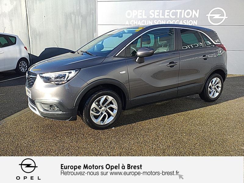 Photo 1 de l'offre de OPEL Crossland X 1.2 Turbo 110ch Elegance à 15490€ chez Europe Motors - Opel Brest