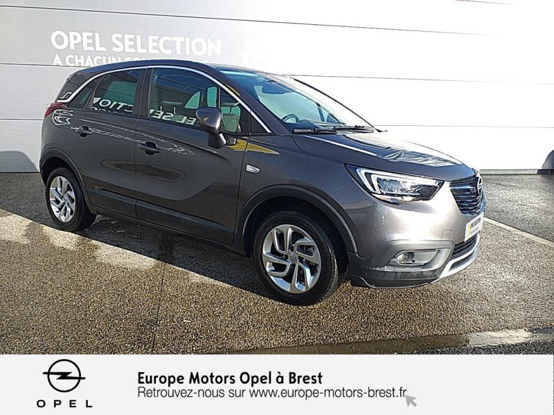 Photo 3 de l'offre de OPEL Crossland X 1.2 Turbo 110ch Elegance à 15490€ chez Europe Motors - Opel Brest