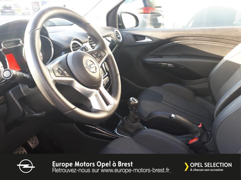 Photo 8 de l'offre de OPEL Adam 1.4 Twinport 87ch Black Edition Start/Stop à 11690€ chez Europe Motors - Opel Brest