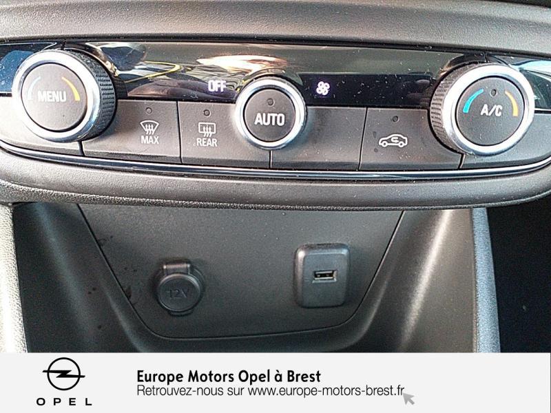 Photo 14 de l'offre de OPEL Crossland X 1.2 Turbo 110ch Elegance à 15490€ chez Europe Motors - Opel Brest