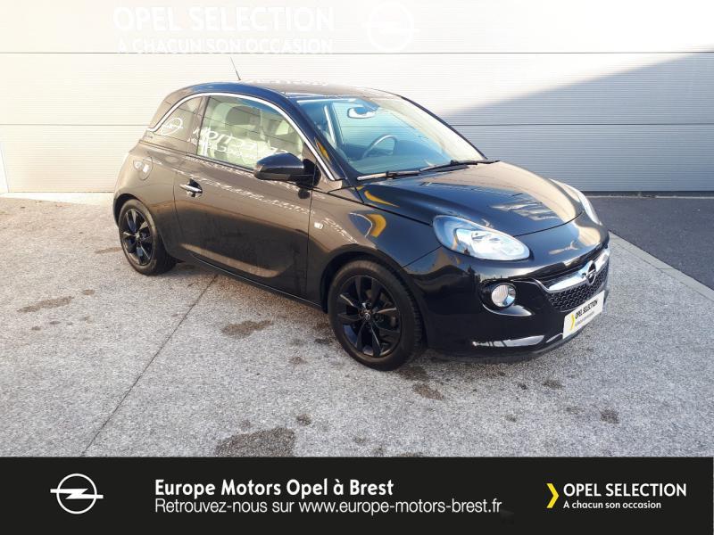 Photo 3 de l'offre de OPEL Adam 1.4 Twinport 87ch Black Edition Start/Stop à 11690€ chez Europe Motors - Opel Brest