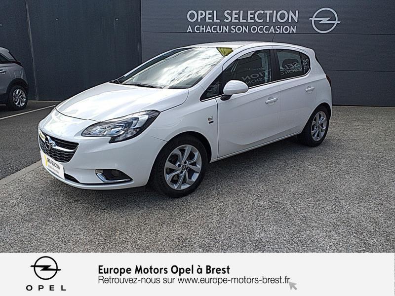 Opel Corsa 1.4 Turbo 100ch Design 120 ans Start/Stop 5p Essence Blanc Glacier Occasion à vendre
