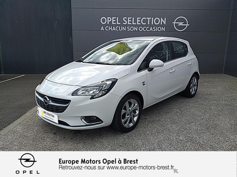Opel Corsa 1.0 ECOTEC Turbo 90ch Design 120 ans Start/Stop 5p Essence Blanc Glacier Occasion à vendre