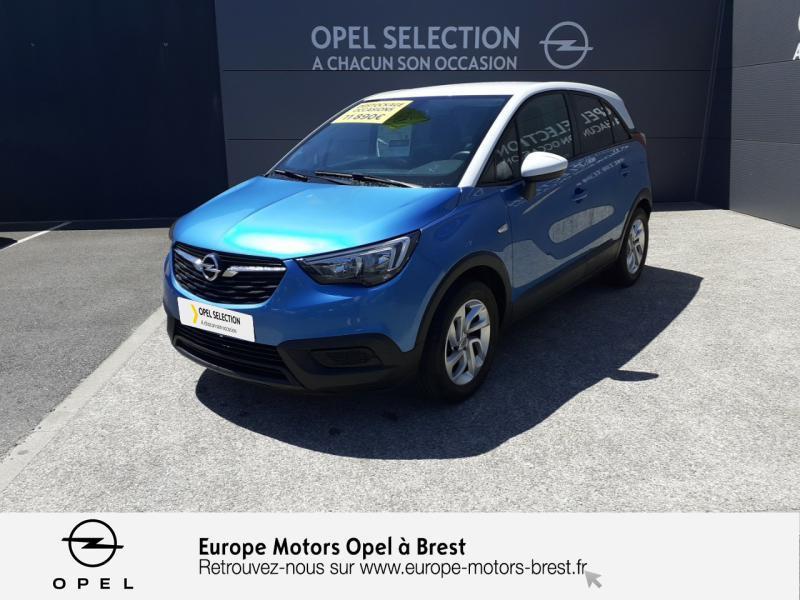 Opel Crossland X 1.2 81ch Edition Essence Bleu Occasion à vendre
