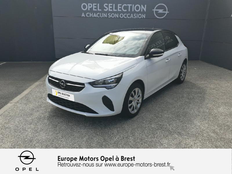 Opel Corsa 1.2 Turbo 100ch Edition Essence Blanc Glacier Occasion à vendre