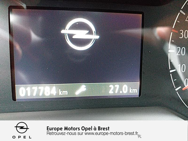 Photo 17 de l'offre de OPEL Crossland X 1.2 Turbo 110ch Elegance 6cv à 15490€ chez Europe Motors - Opel Brest