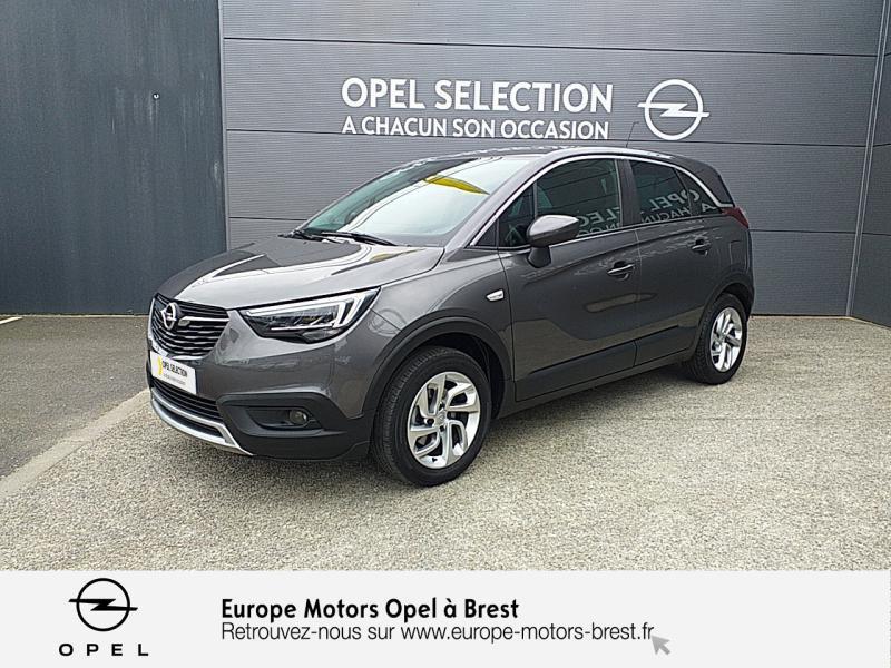 Photo 1 de l'offre de OPEL Crossland X 1.2 Turbo 110ch Elegance 6cv à 15490€ chez Europe Motors - Opel Brest