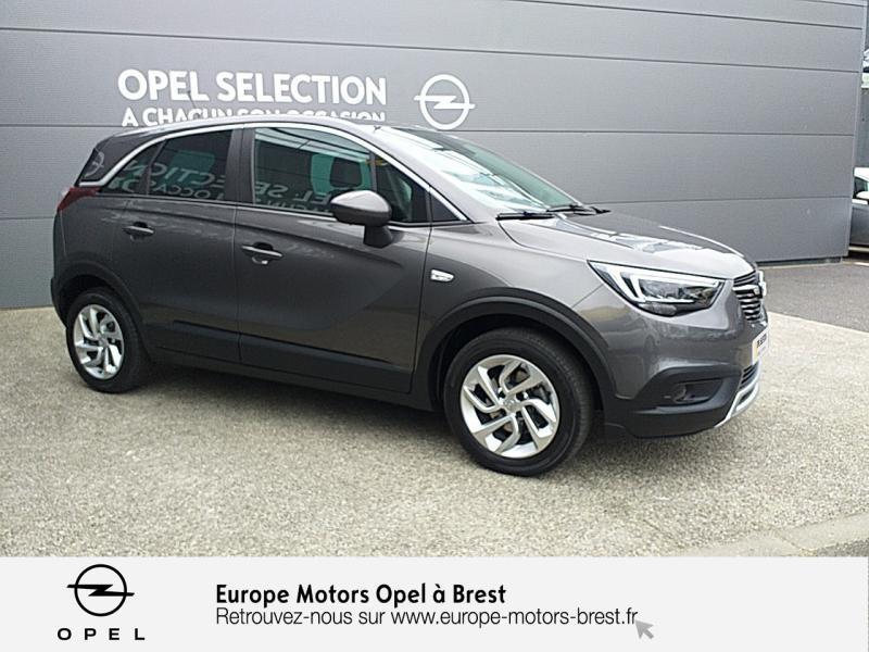 Photo 3 de l'offre de OPEL Crossland X 1.2 Turbo 110ch Elegance 6cv à 15490€ chez Europe Motors - Opel Brest