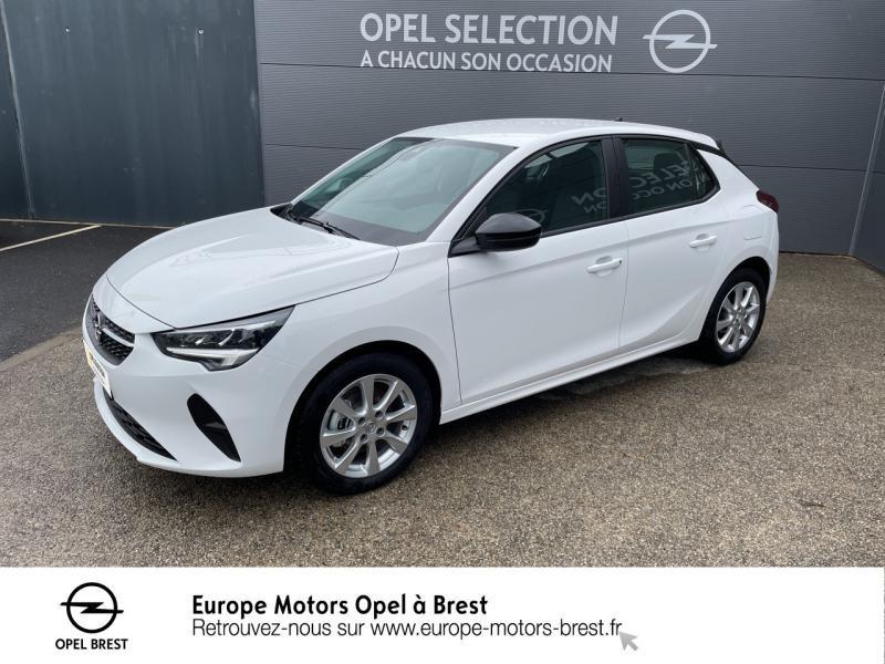 Opel Corsa 1.5 D 100ch Edition Business Diesel Blanc Jade Occasion à vendre
