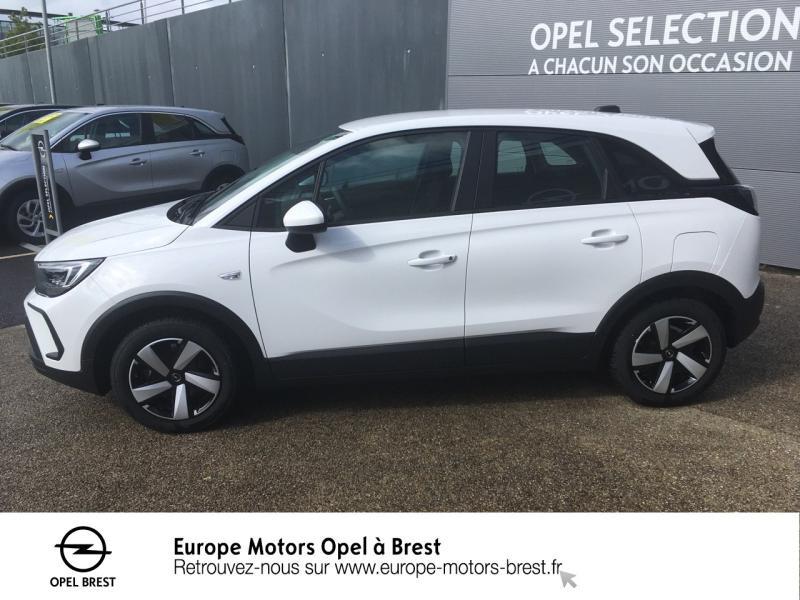 Opel Crossland 1.2 83ch Edition Essence Blanc Jade Occasion à vendre