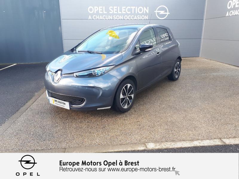 Photo 1 de l'offre de RENAULT Zoe Intens charge normale R90 à 10990€ chez Europe Motors - Opel Brest