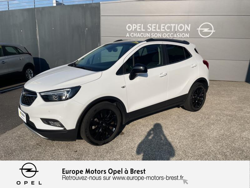 Opel Mokka X 1.4 Turbo 140ch Color Edition 4x2 Essence Blanc Glacier Occasion à vendre