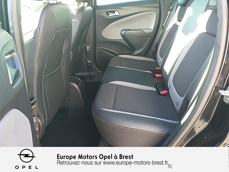 Photo 10 de l'offre de OPEL Crossland X 1.2 Turbo 110ch Elegance 6cv à 15490€ chez Europe Motors - Opel Brest