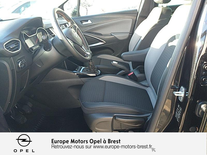Photo 9 de l'offre de OPEL Crossland X 1.2 Turbo 110ch Elegance 6cv à 15490€ chez Europe Motors - Opel Brest