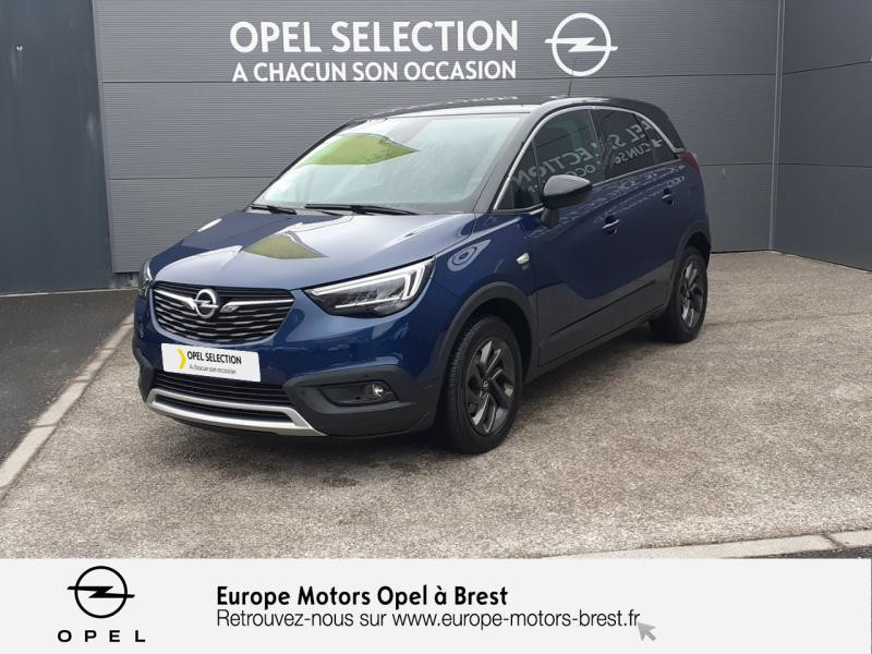 Opel Crossland X 1.5 D 102ch Opel 2020 Euro 6d-T Diesel Bleu Nautic/Toit Noir Diamant Occasion à vendre