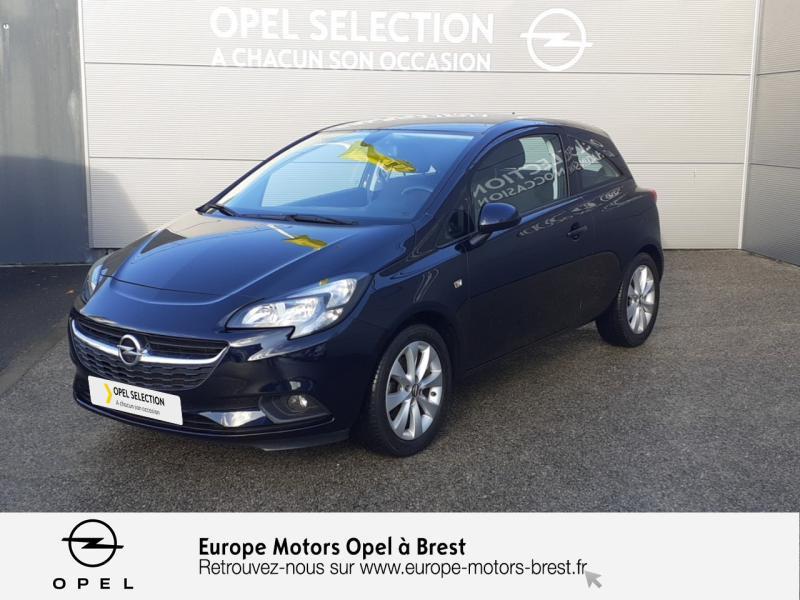 Opel Corsa 1.4 Turbo 100ch Excite Start/Stop 3p Essence Bleu Lune Marine Occasion à vendre