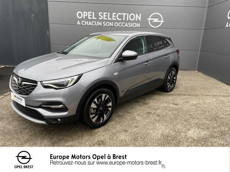 Opel Grandland X Hybrid 225ch Elegance Business Hybride rechargeable : Essence/Electrique Gris Quartz Occasion à vendre