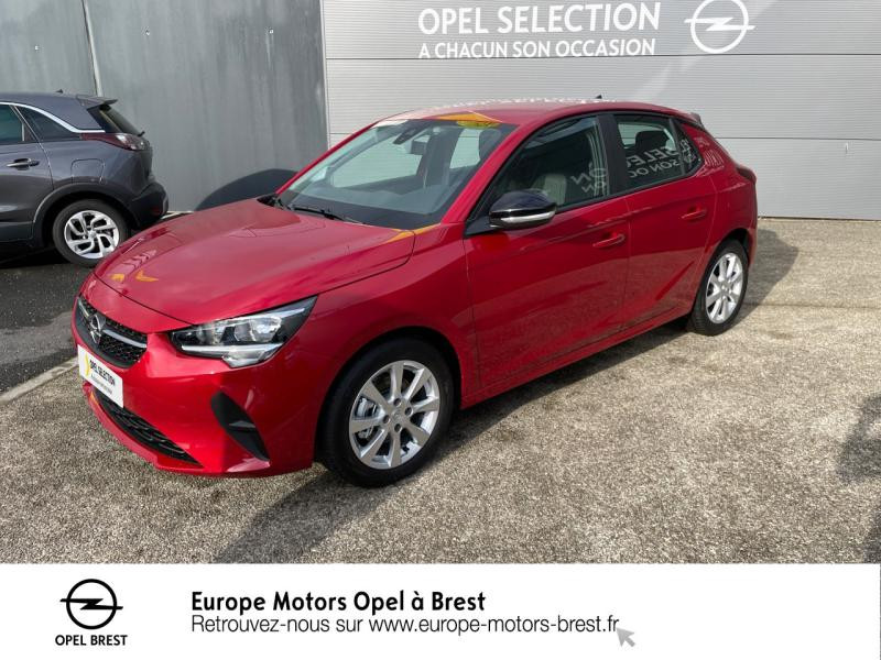 Opel Corsa 1.2 Turbo 100ch Edition Essence Rouge Piment Occasion à vendre