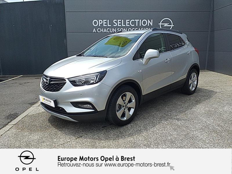 Opel Mokka X 1.4 Turbo 140ch Innovation 4x2 Essence Gris Minéral Occasion à vendre