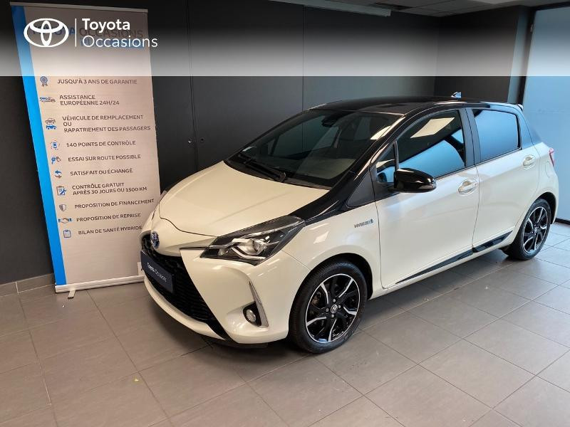 Photo 1 de l'offre de TOYOTA Yaris 100h Collection 5p RC18 à 15490€ chez Altis - Toyota Lorient
