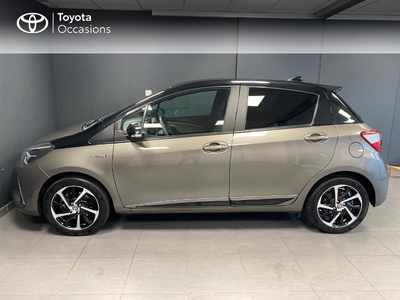 Photo 3 de l'offre de TOYOTA Yaris 100h Collection 5p RC18 à 16990€ chez Altis - Toyota Lorient