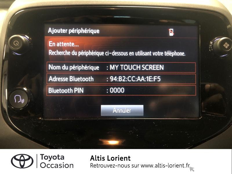 Photo 16 de l'offre de TOYOTA Aygo 1.0 VVT-i 72ch x-play 5p MY20 à 12140€ chez Altis - Toyota Lorient