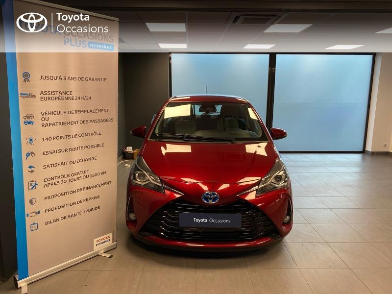 Photo 5 de l'offre de TOYOTA Yaris 100h Dynamic 5p à 13990€ chez Altis - Toyota Lorient
