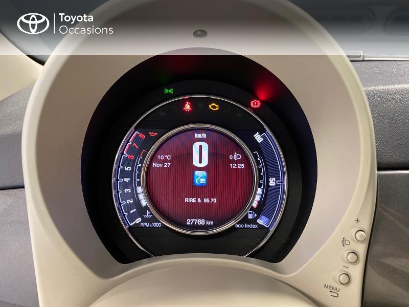Photo 14 de l'offre de FIAT 500 1.2 8v 69ch Lounge à 9990€ chez Altis - Toyota Lorient